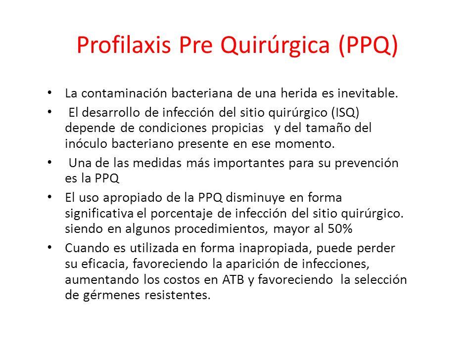 Profilaxis Pre Quirúrgica (PPQ)