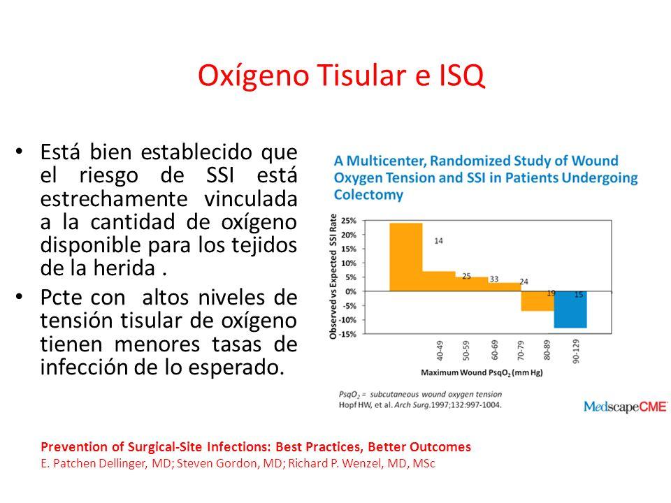 Oxígeno Tisular e ISQ