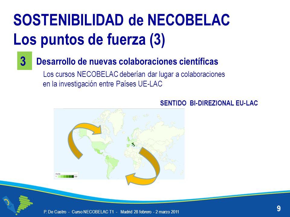 SOSTENIBILIDAD de NECOBELAC Los puntos de fuerza (3)