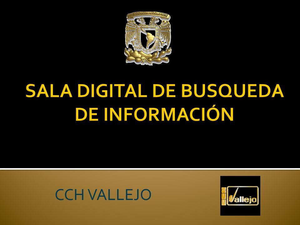 SALA DIGITAL DE BUSQUEDA DE INFORMACIÓN