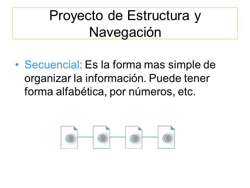 Proyecto de Estructura y Navegación