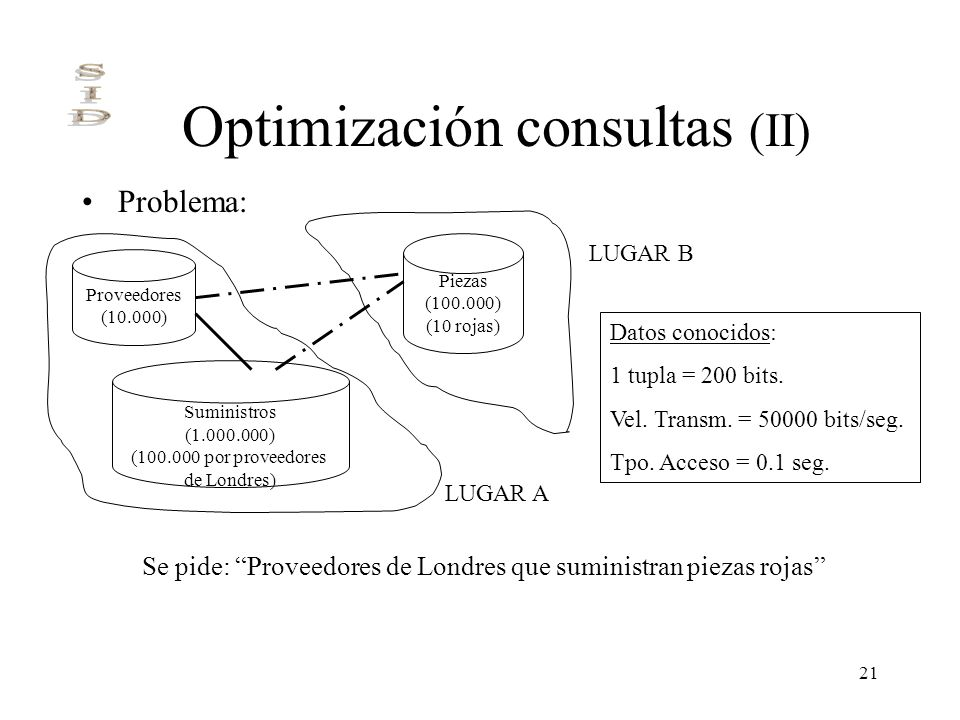 Optimización consultas (II)