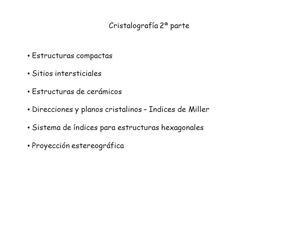 Cristalografía 2ª parte
