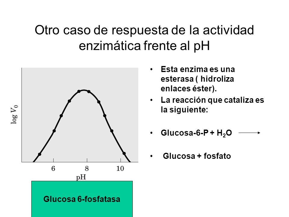 Otro caso de respuesta de la actividad enzimática frente al pH