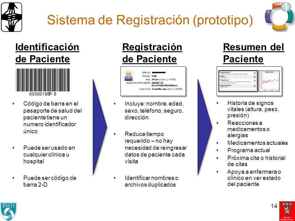 Sistema de Registración (prototipo)