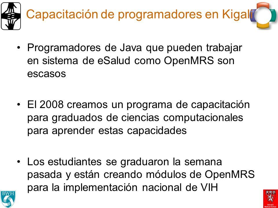 Capacitación de programadores en Kigali