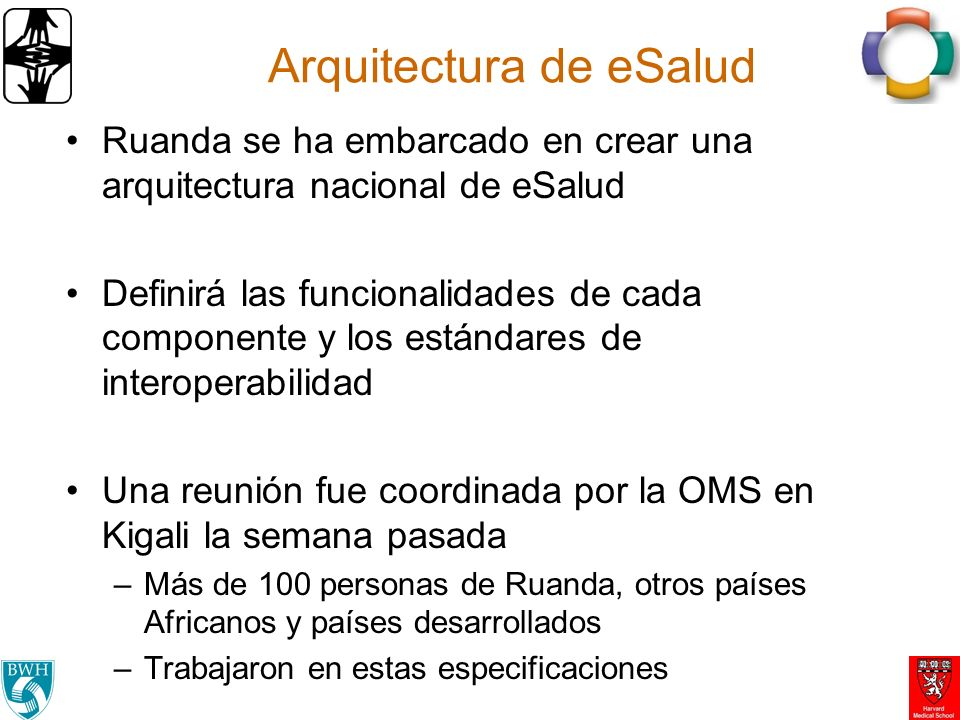 Arquitectura de eSalud