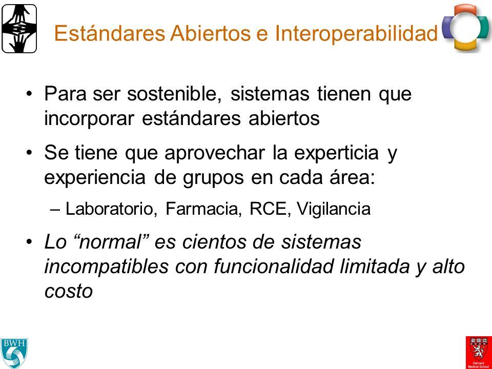 Estándares Abiertos e Interoperabilidad