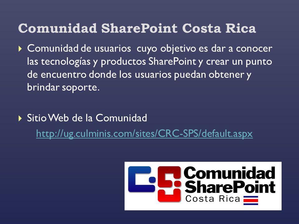 Comunidad SharePoint Costa Rica