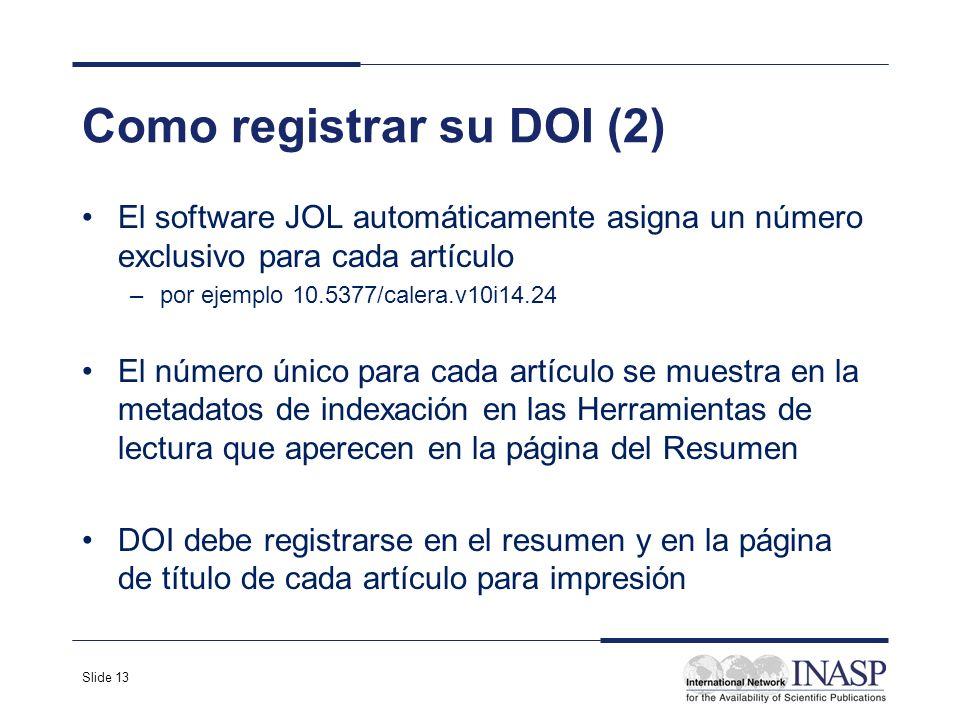Como registrar su DOI (2)