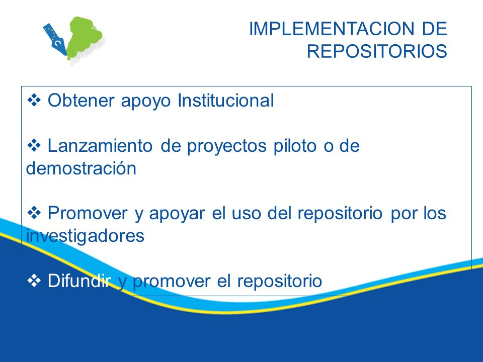 IMPLEMENTACION DE REPOSITORIOS