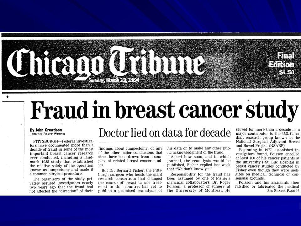 Fraude es estudio de cáncer de mama