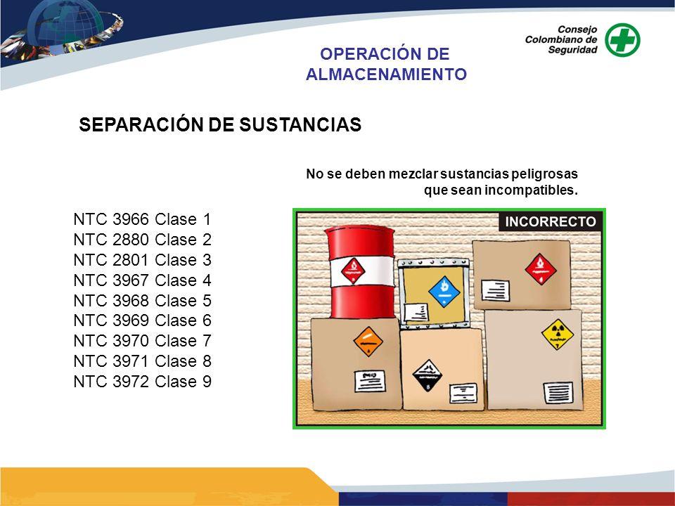 SEPARACIÓN DE SUSTANCIAS