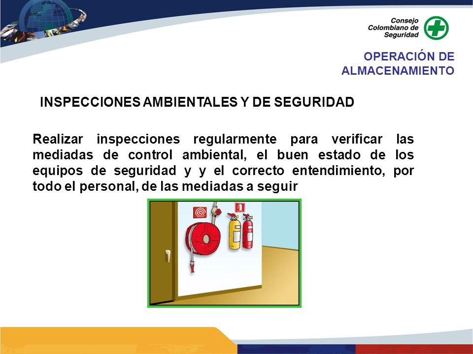 INSPECCIONES AMBIENTALES Y DE SEGURIDAD