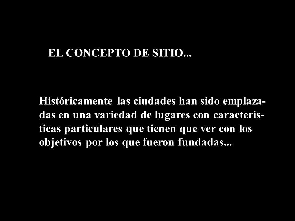 EL CONCEPTO DE SITIO...