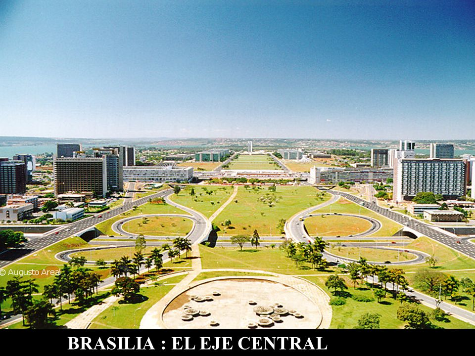 BRASILIA : EL EJE CENTRAL