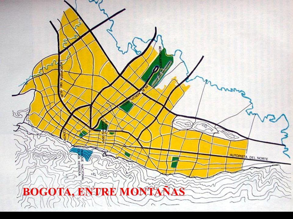 BOGOTA, ENTRE MONTAÑAS