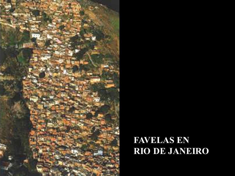 FAVELAS EN RIO DE JANEIRO
