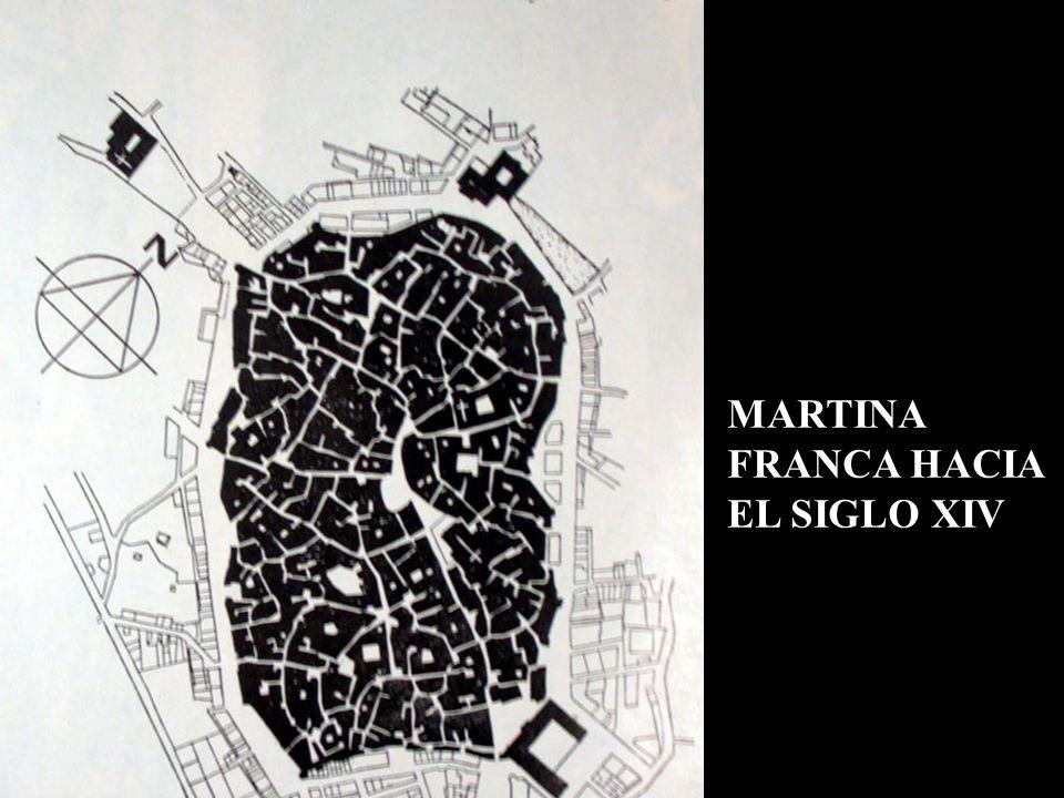 MARTINA FRANCA HACIA EL SIGLO XIV