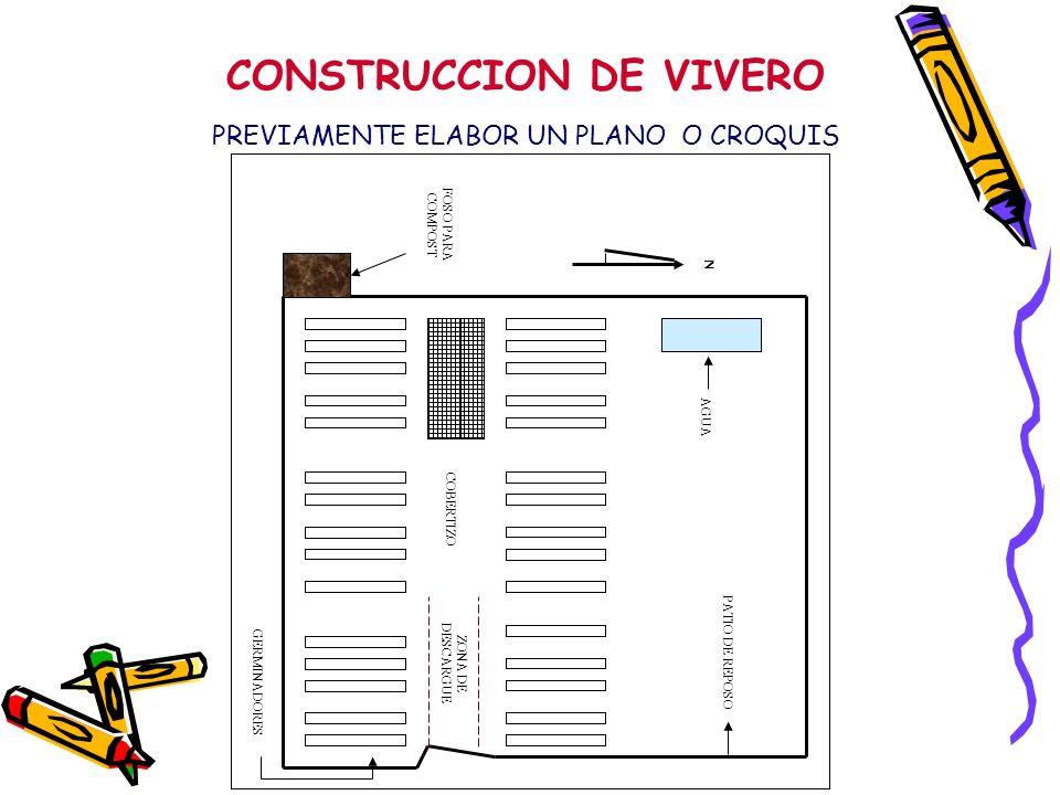 CONSTRUCCION DE VIVERO