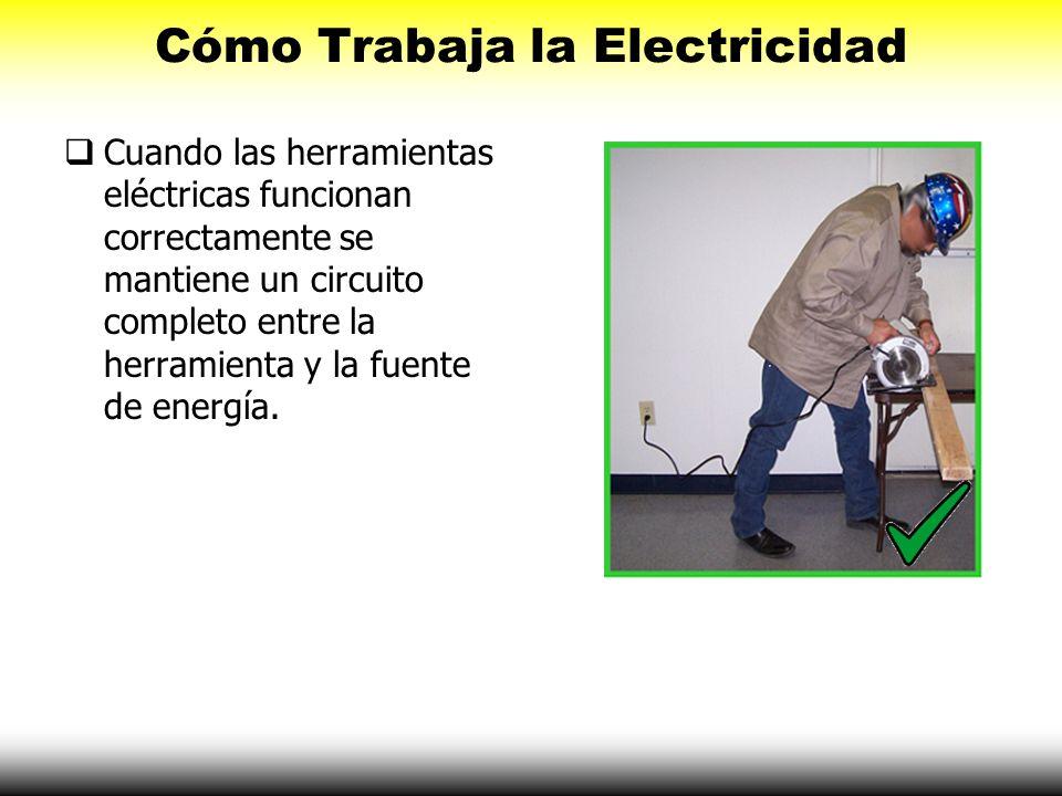Cómo Trabaja la Electricidad