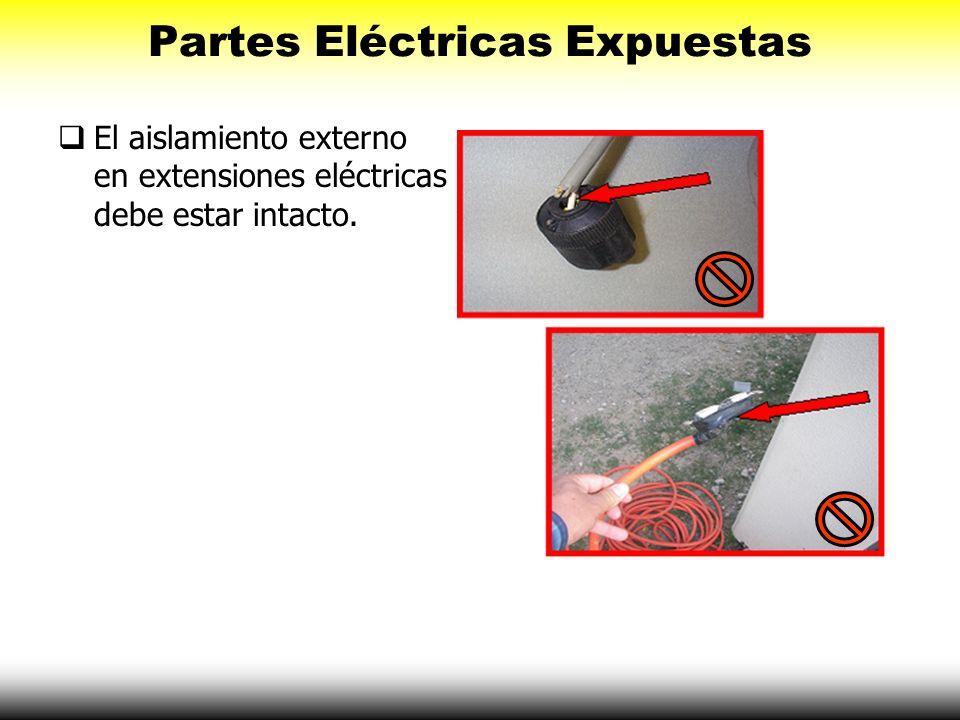 Partes Eléctricas Expuestas