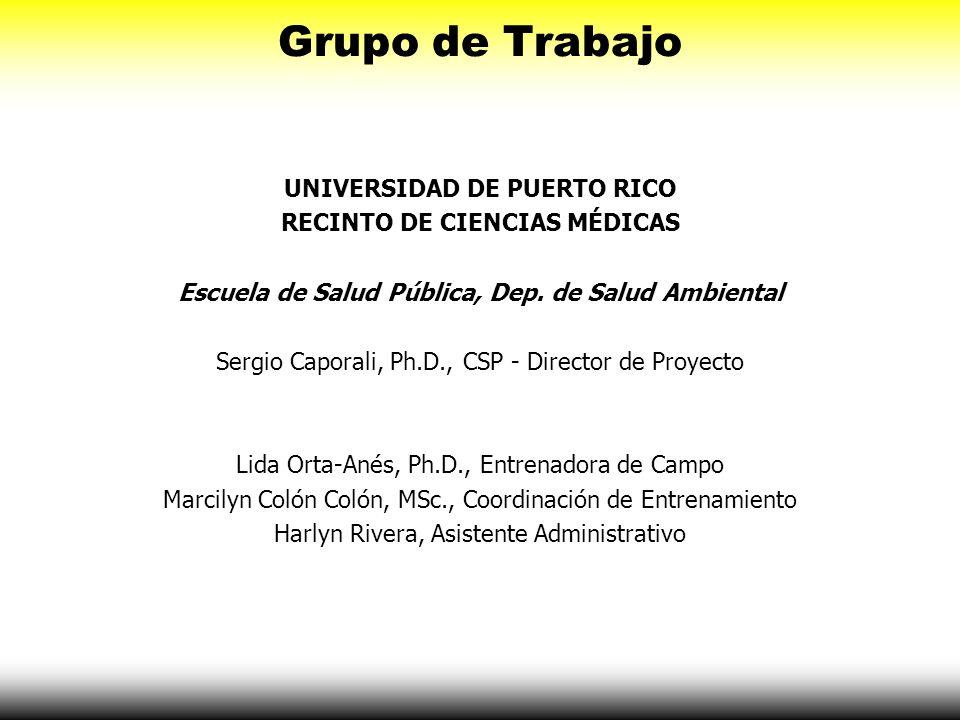 Grupo de Trabajo UNIVERSIDAD DE PUERTO RICO