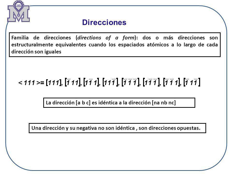 Direcciones