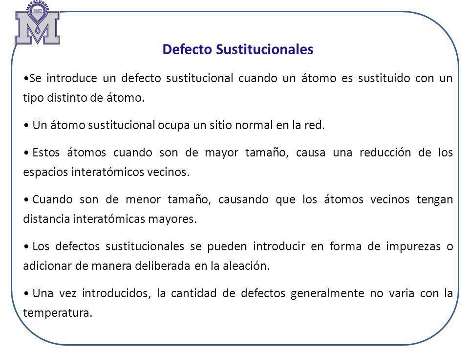 Defecto Sustitucionales