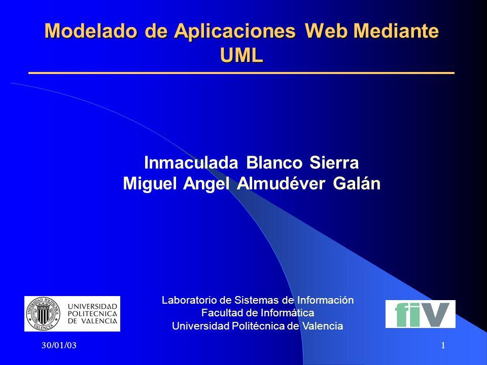 Modelado de Aplicaciones Web Mediante UML