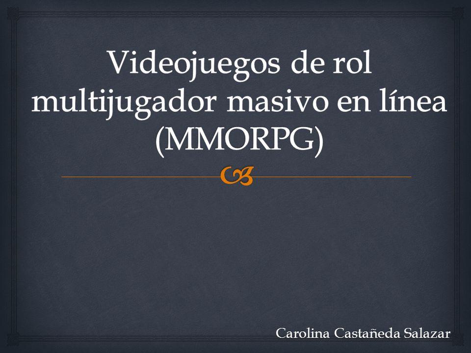 Videojuegos de rol multijugador masivo en línea (MMORPG)