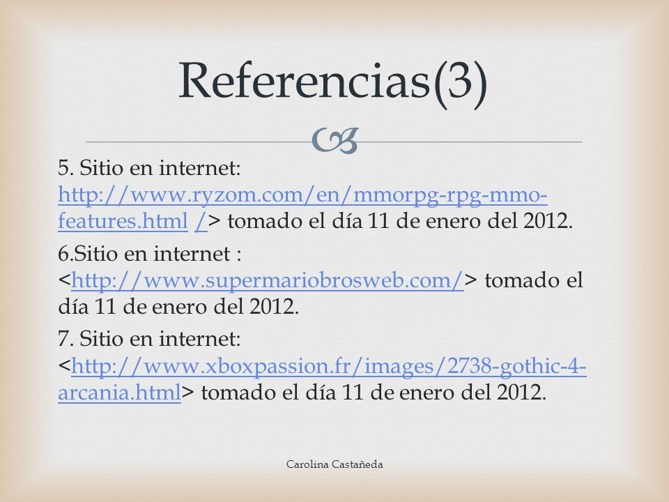 Referencias(3)