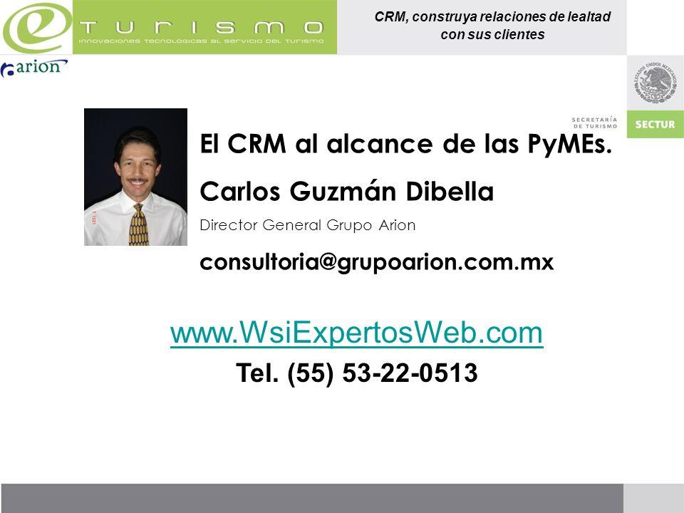 www.WsiExpertosWeb.com El CRM al alcance de las PyMEs.