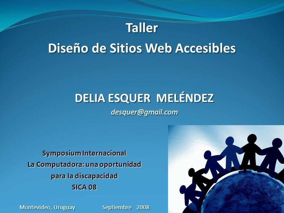 Taller Diseño de Sitios Web Accesibles