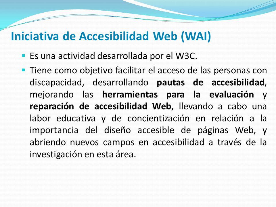 Iniciativa de Accesibilidad Web (WAI)