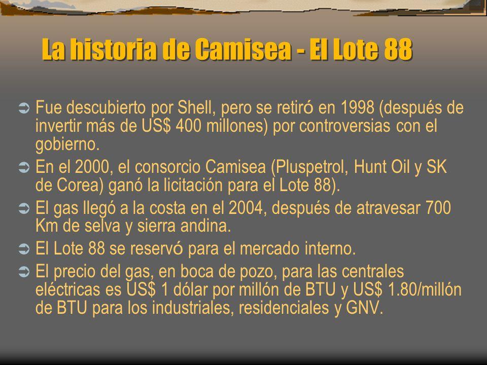 La historia de Camisea - El Lote 88