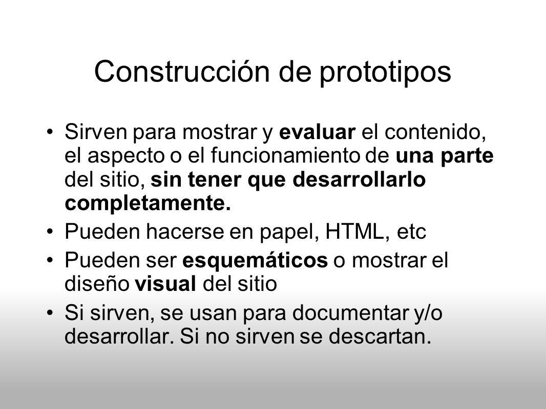 Construcción de prototipos