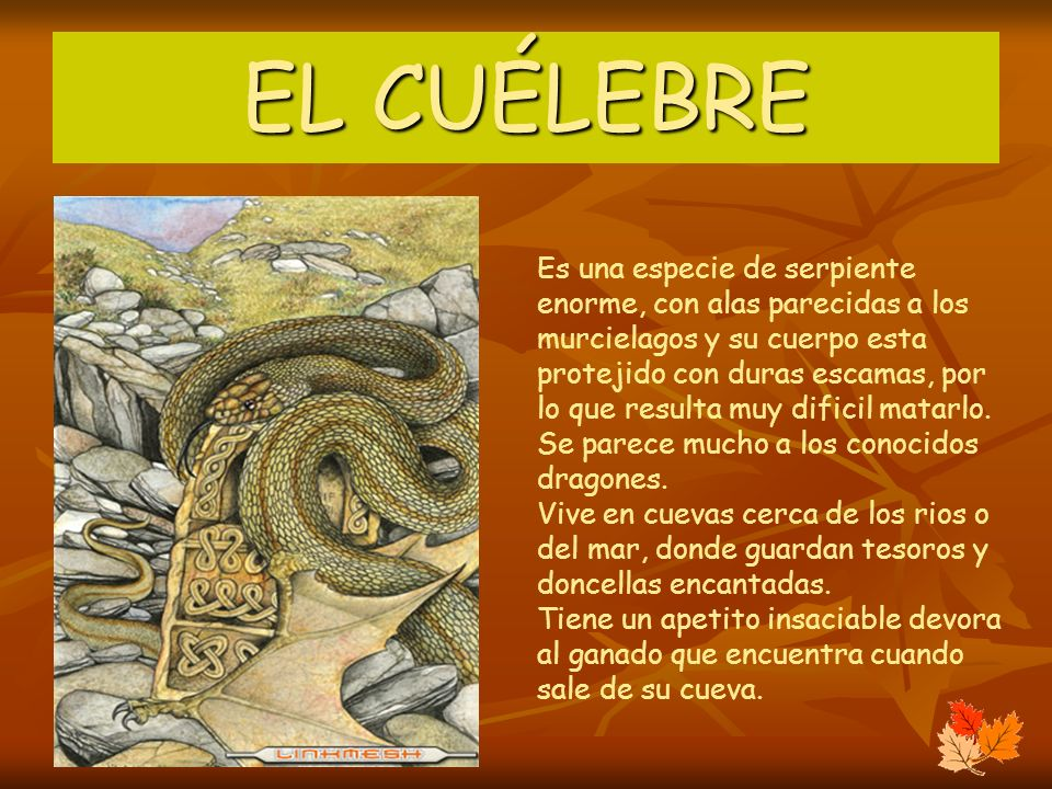 EL CUÉLEBRE
