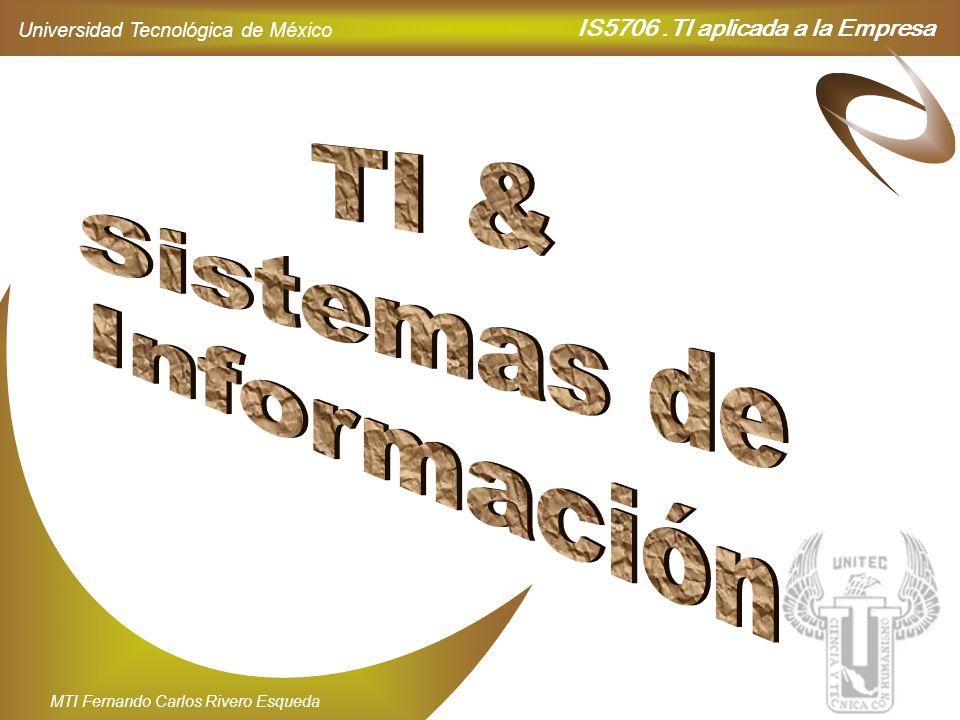 TI & Sistemas de Información