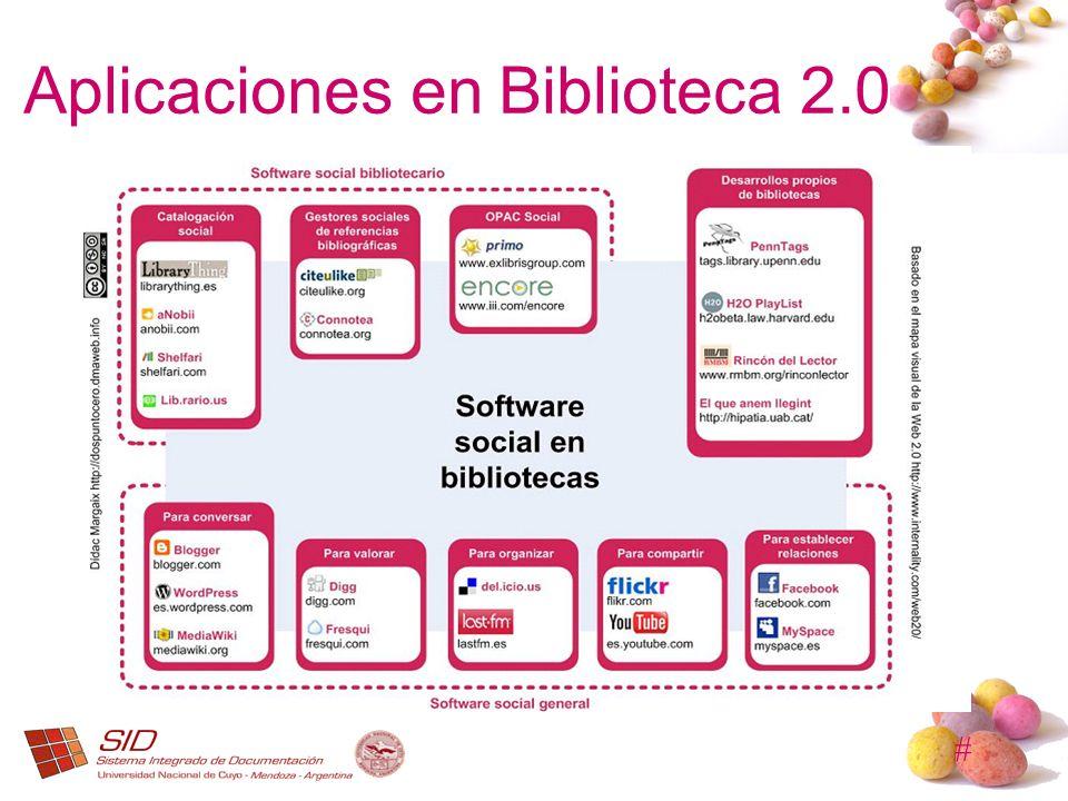 Aplicaciones en Biblioteca 2.0