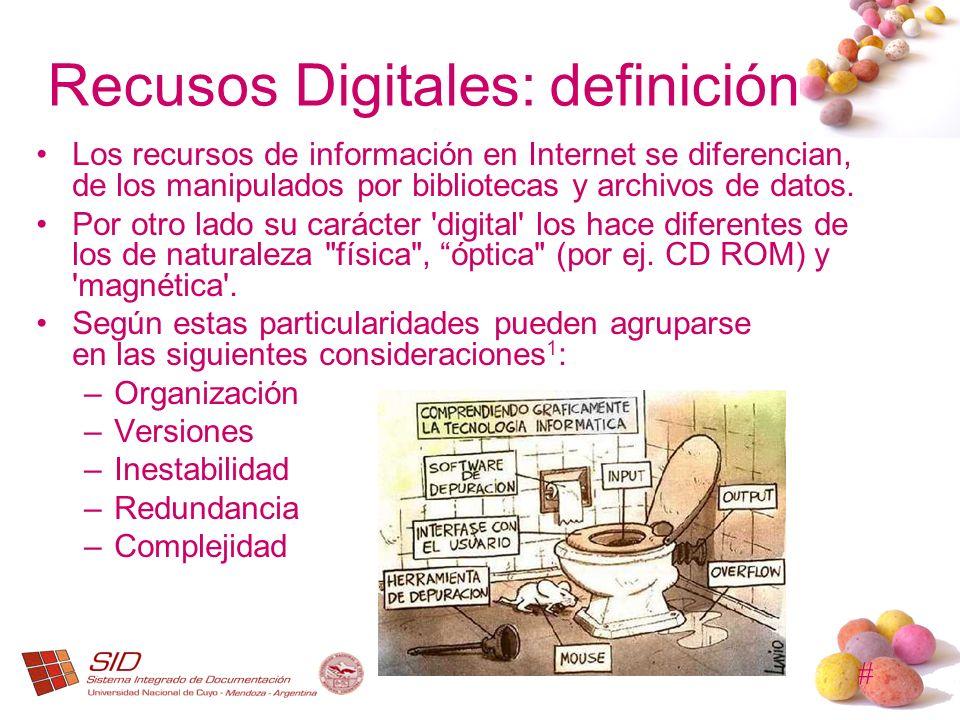 Recusos Digitales: definición