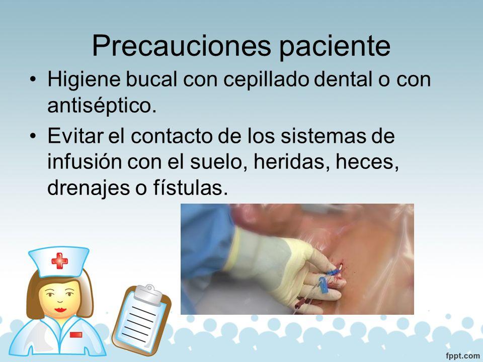 Precauciones paciente