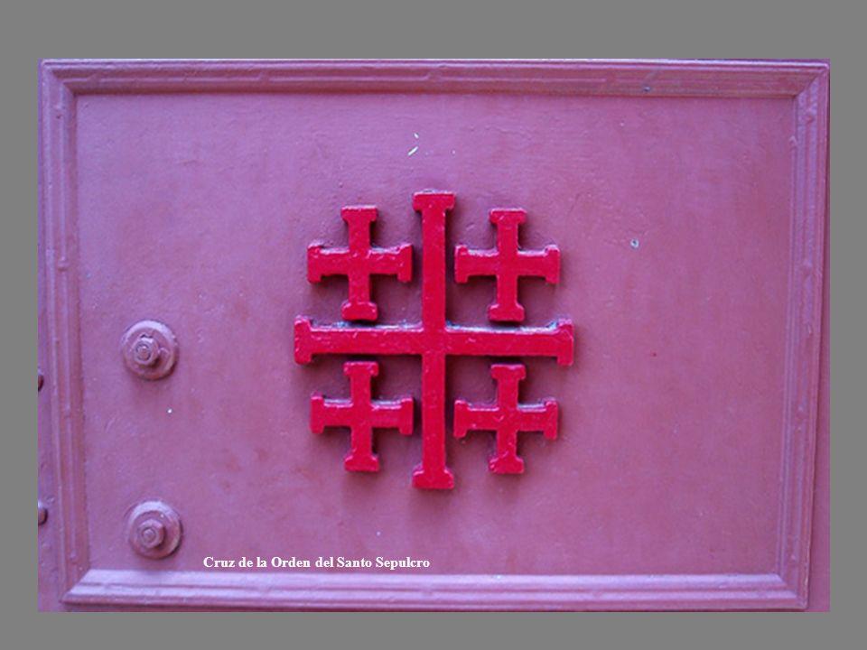 Cruz de la Orden del Santo Sepulcro