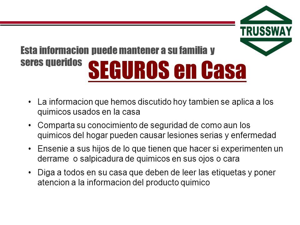 Esta informacion puede mantener a su familia y seres queridos