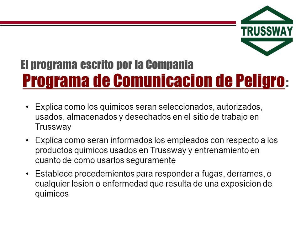 El programa escrito por la Compania