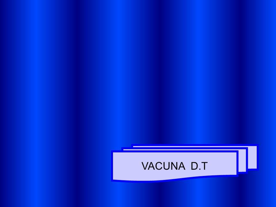 VACUNA D.T