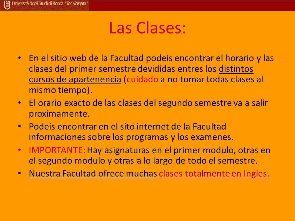 Las Clases: