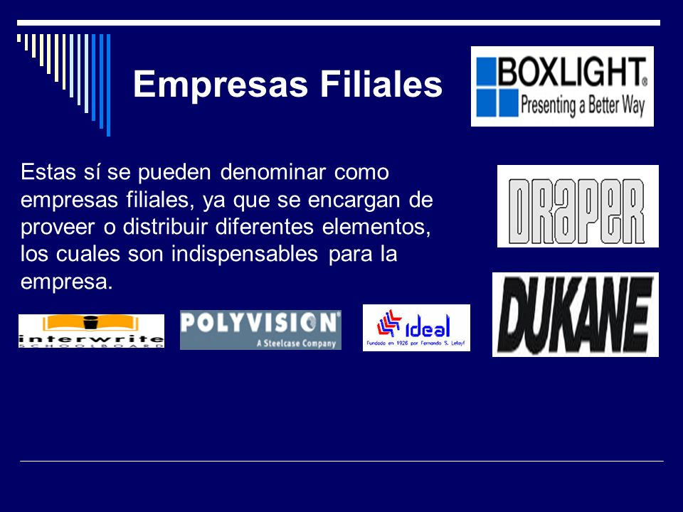 Empresas Filiales