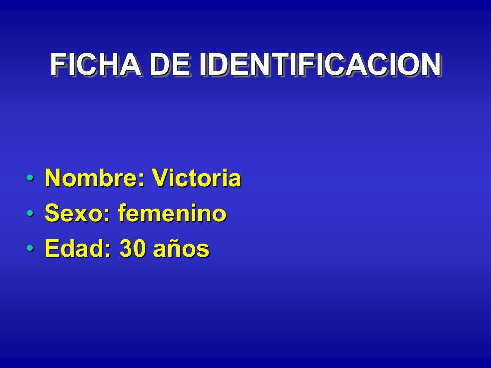 FICHA DE IDENTIFICACION