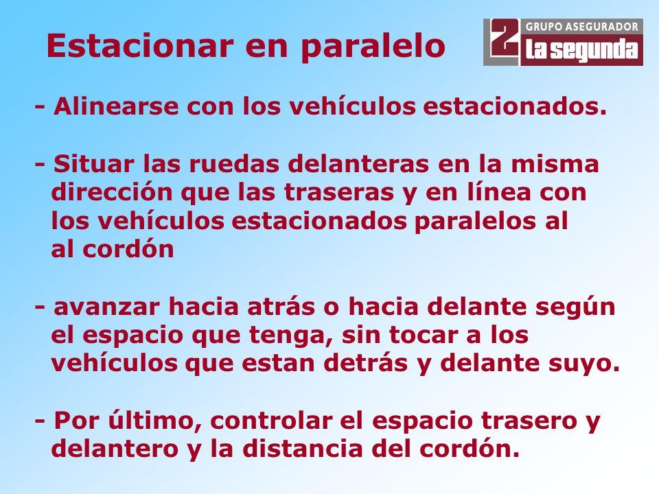 Estacionar en paralelo